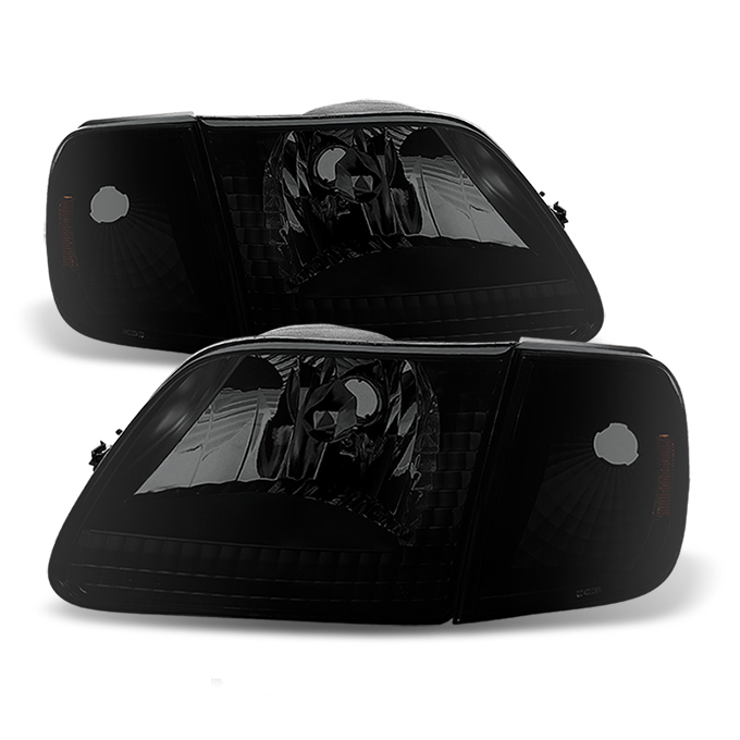 2004 Ford F150 Heritage Door Mount Spotlight Larson Electronics 1015P9IYT0Y Driver Side with Install kit 6 inch -Black 100W Halogen