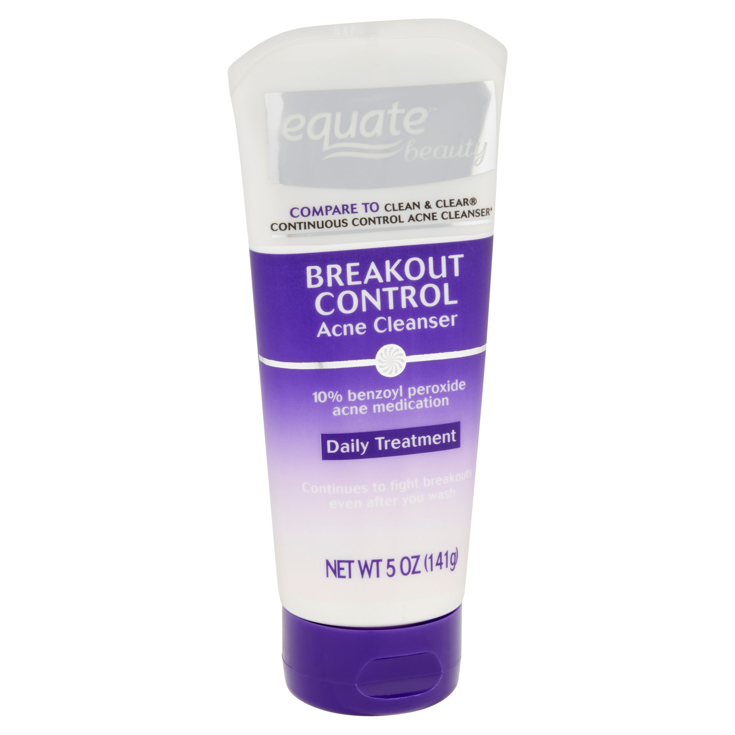Equate Beauty Breakout Control Acne Cleanser Daily Treatment 5 Oz