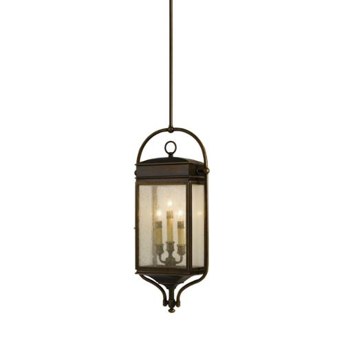 Feiss 3 -light Whitaker Pendant in Astral Bronze by Overstock