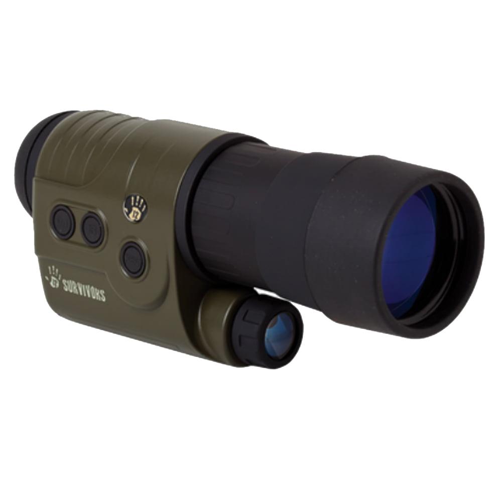 12 Survivors Trace 5X50 Digital Night Vision Recording Monocular - TS18053