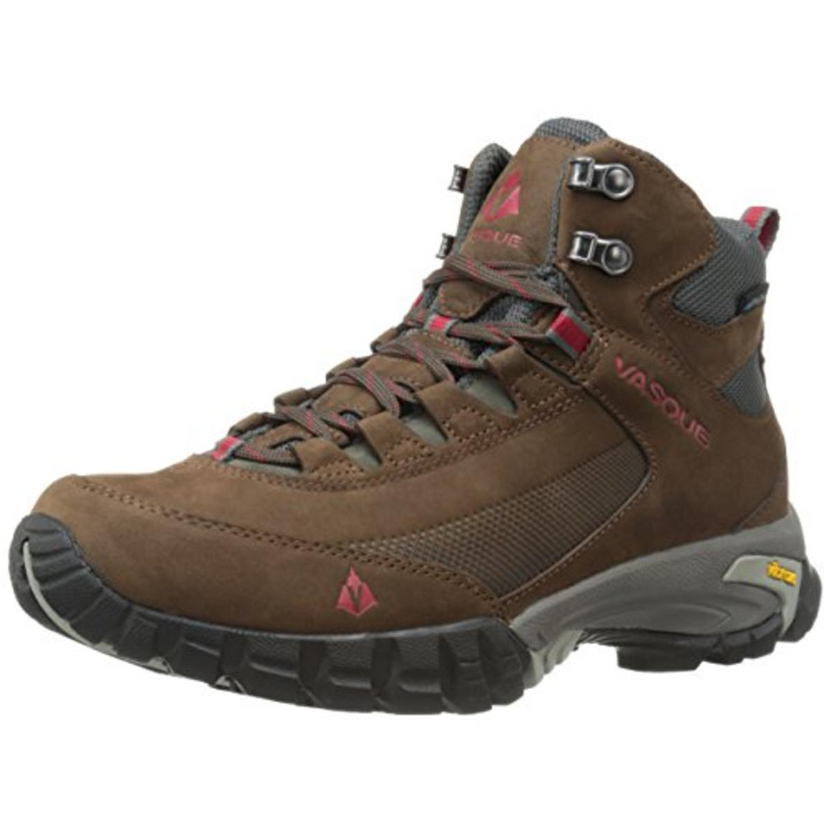 7cc5ddd0624 Vasque Mens Talus Trek Ultradry Leather Waterproof Hiking Boots
