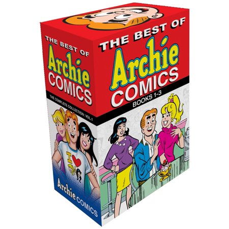 The Best of Archie Comics 1-3 Boxed Set (Comic Book Boy Halloween)