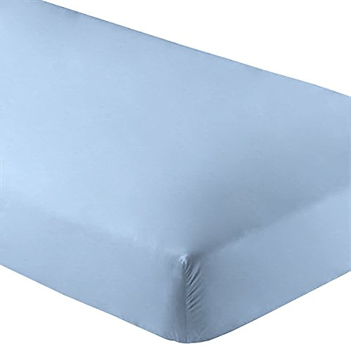 fitted sheet premium microfiber twin extra long twin xl light blue