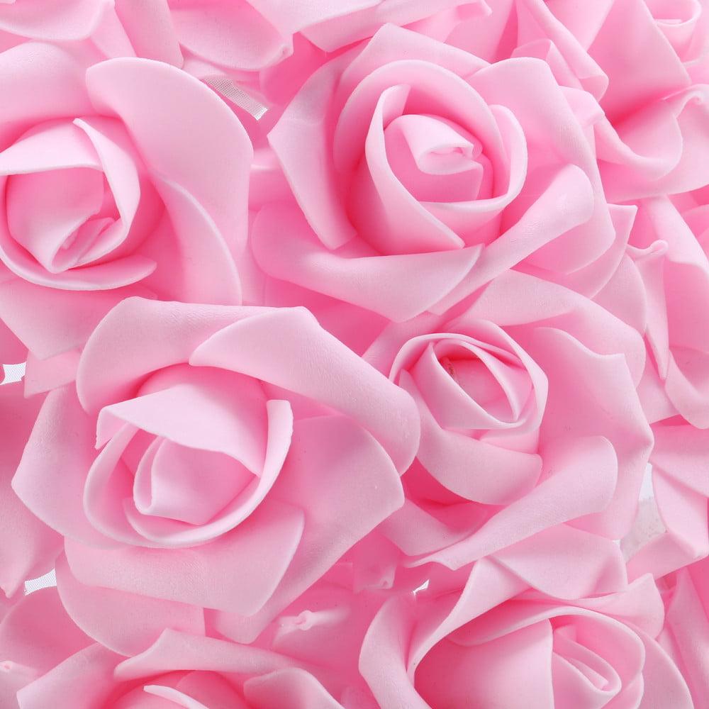 E27 Rose Table Desk Lamp Flower Shade Light Home Commercial Decoration Romantic