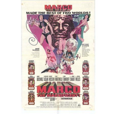 Marco the Magnificent Movie Poster (11 x 17) - Walmart.com