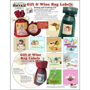 ScrapSMART Gift and Wine Bag Labels CD-ROM, Label Designs, Patterns and Instructions