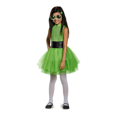 Powerpuff Girls Buttercup Tutu Deluxe Child Costume (Powerpuff Girl Costumes Diy)