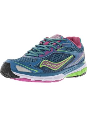 e9370bdba74f Product Image Saucony Girl s Ride 8 Turquoise Ankle-High Running Shoe - 5M