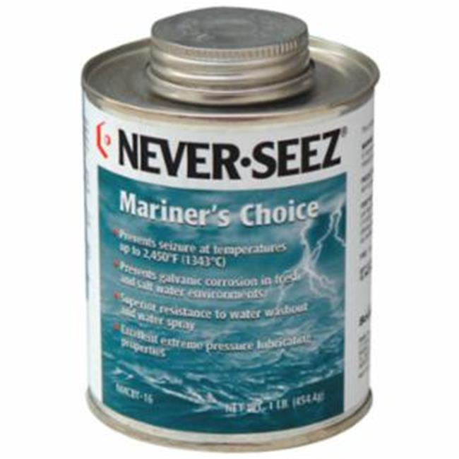 Never-Seez 535-30803832 8 oz Mariners Choice Anti-Seize, Black & Gray - image 1 de 1