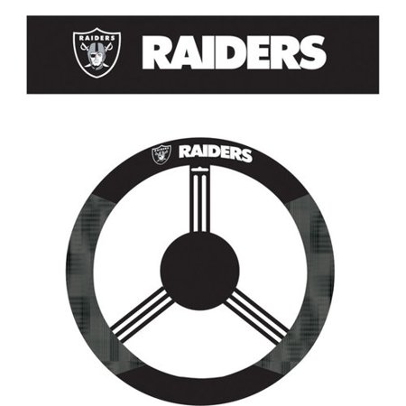 Oakland Raiders Steering Wheel Covers Price Compare