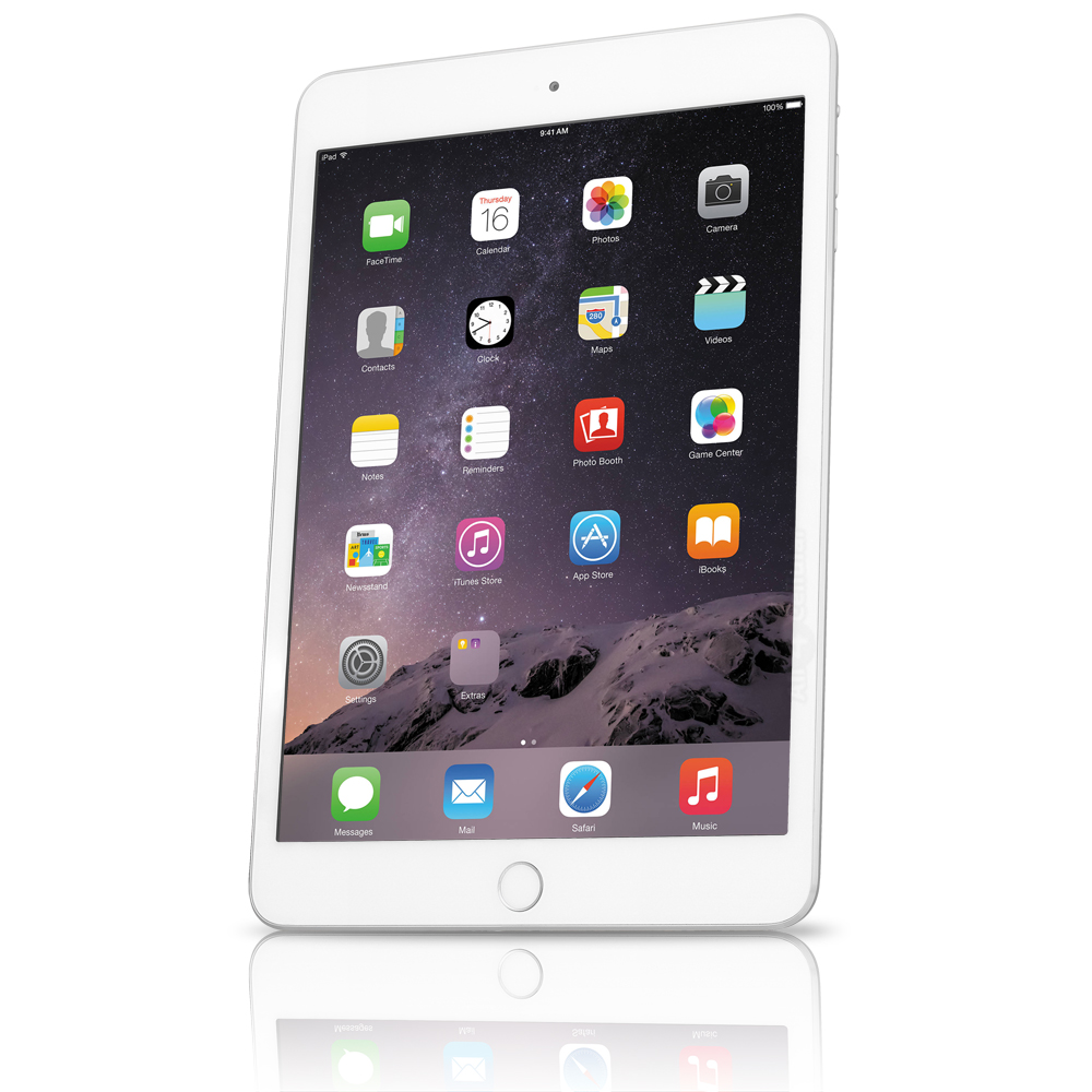 Apple iPad Mini 3 7.9'' 16GB WiFi + 4G GSM - Silver (Refurbished)