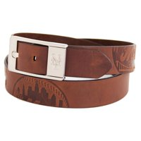 New York Mets Brandish Leather Belt - Brown
