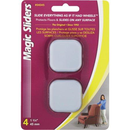 - Magic Sliders Square Furniture Glide