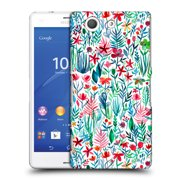 OFFICIAL MICKLYN LE FEUVRE WATERCOLOUR GARDEN HARD BACK CASE FOR SONY PHONES 2