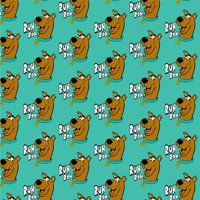 Scooby-Doo Ruh Roh Premium Roll Gift Wrap Wrapping Paper