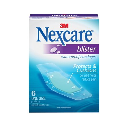 - Nexcare Blister Waterproof Bandages, One Size