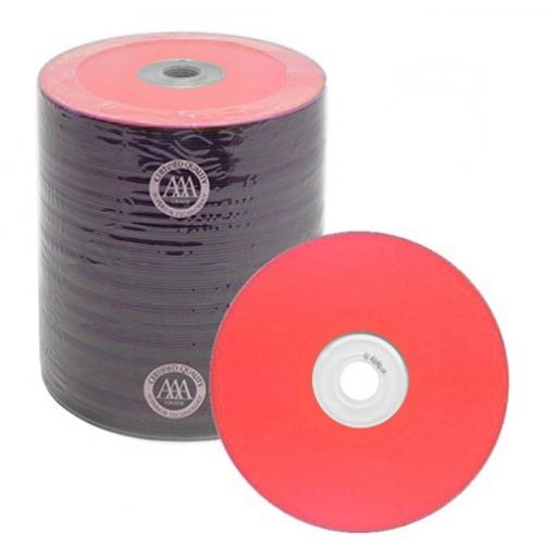 200 Spin-X Diamond Certified 48x CD-R 80min 700MB Red Color Top Thermal