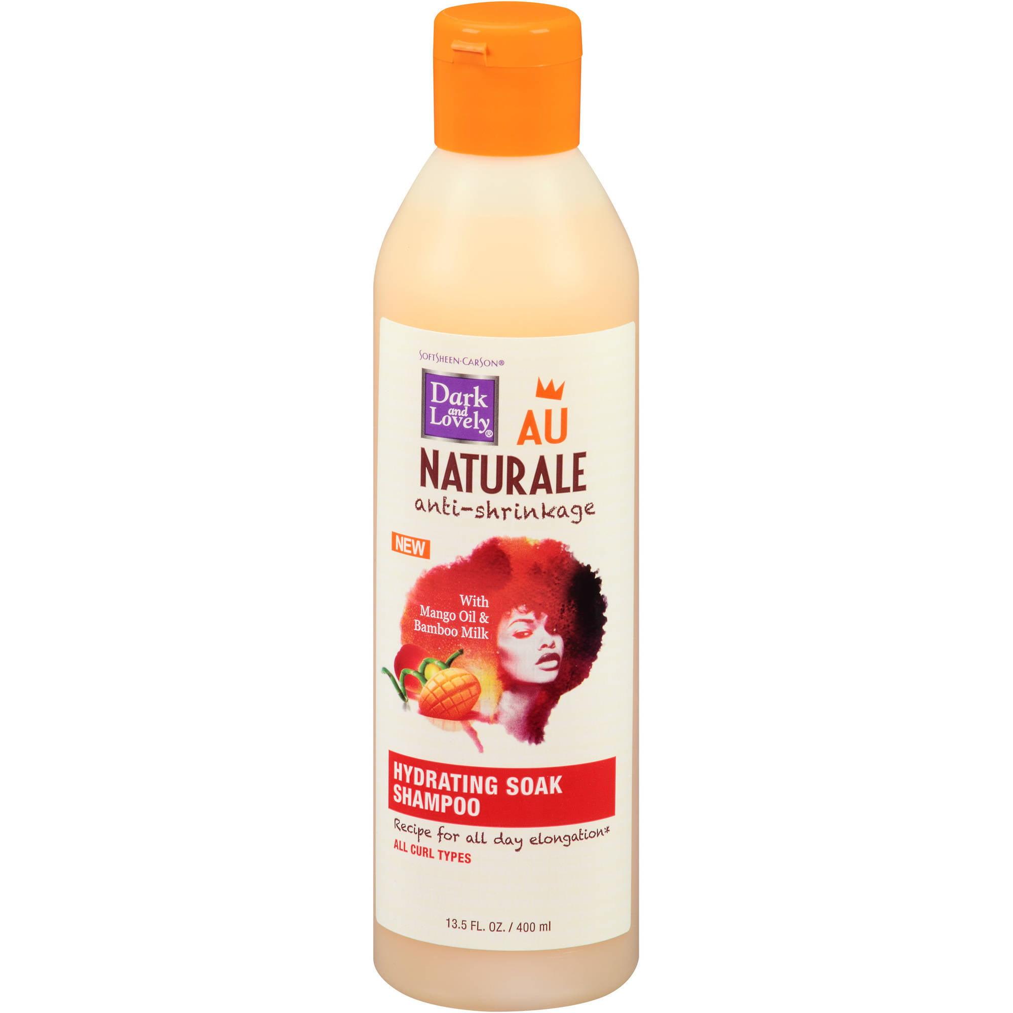 dark lovely au naturale anti shrinkage shampoo 13 5 fl