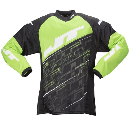 2015 JT Tournament Paintball Jersey - Neon Green - Small