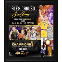 "Alex Caruso Los Angeles Lakers Framed 15"" x 17"" 2020 NBA Finals Champion Collage"