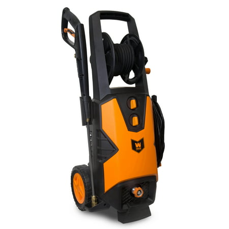 WEN 2030 PSI 1.76 GPM 14.5-Amp Electric Pressure Washer with Variable Detergent and Hose Reel