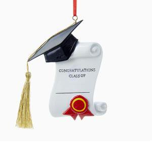 Graduation Christmas Ornament
