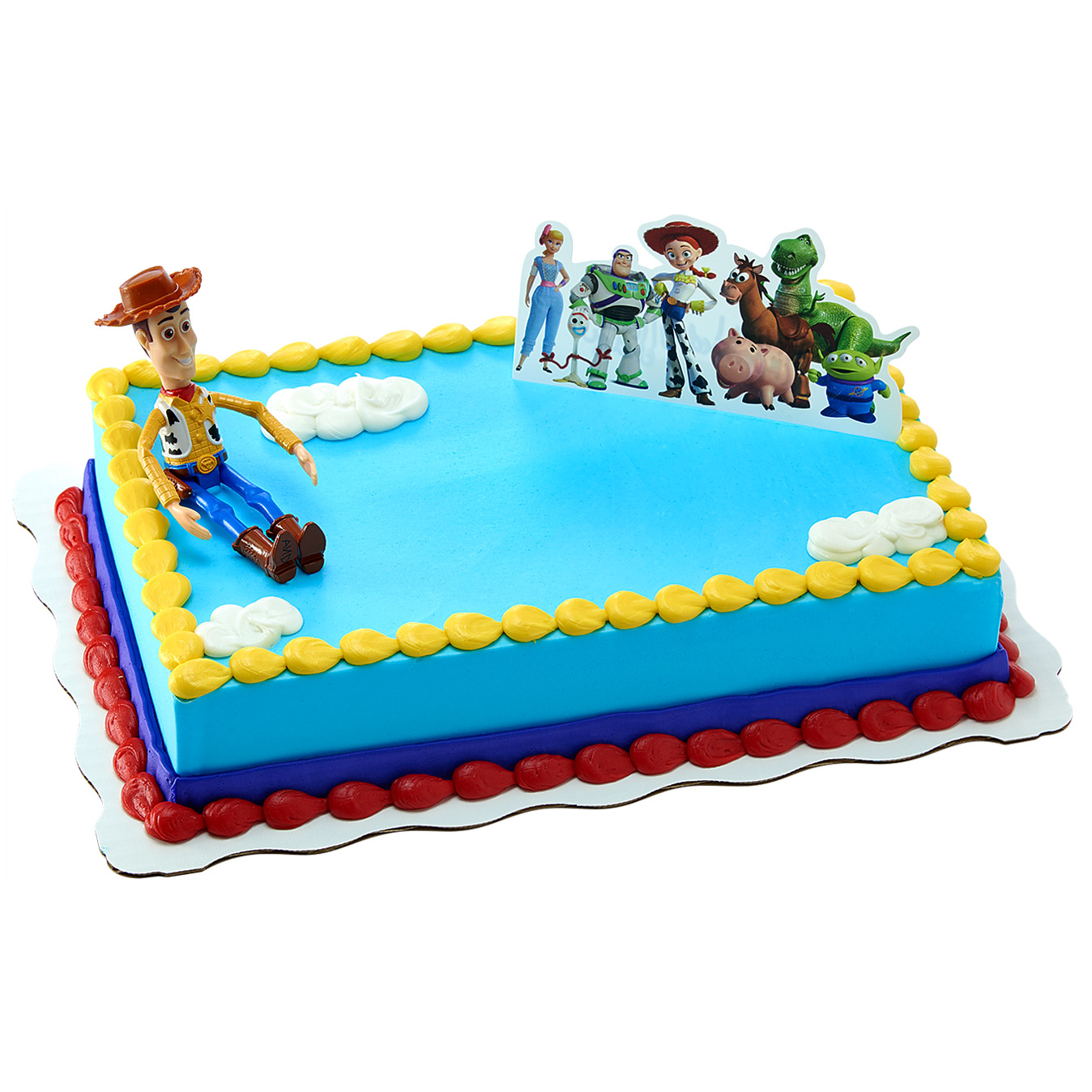 Incredible Toy Story 4 Kit Cake Walmart Com Walmart Com Personalised Birthday Cards Rectzonderlifede