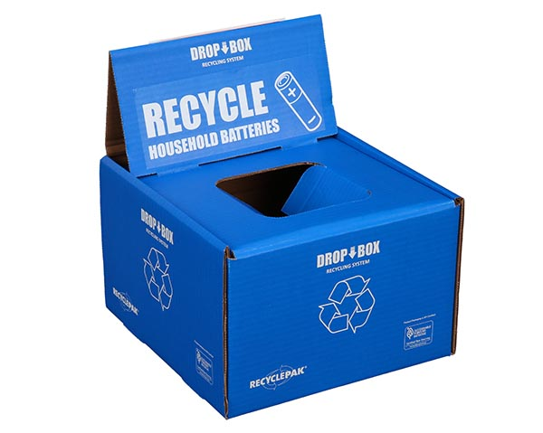 Veolia SUPPLY-065 Large 4 Foot Fluorescent Lamp Recycling Box Prepaid Return