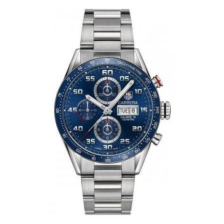 Tag Heuer Carrera Calibre 16 Day-Date Automatic Mens Watch CV2A1V.BA0738 ()