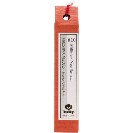 Milliners Needles (Tulip Milliners/Straw Needles 6/Pkg-Size 10 )