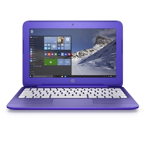 "Hewlett Packard N5X87UA#ABA HP Stream 11-r000 11-r020nr 11.6"" Notebook - Intel Celeron N3050 Dual-core (2 Core) 1.60 GHz - Purple Violet - 2 GB DDR3L SDRAM RAM - Intel HD"