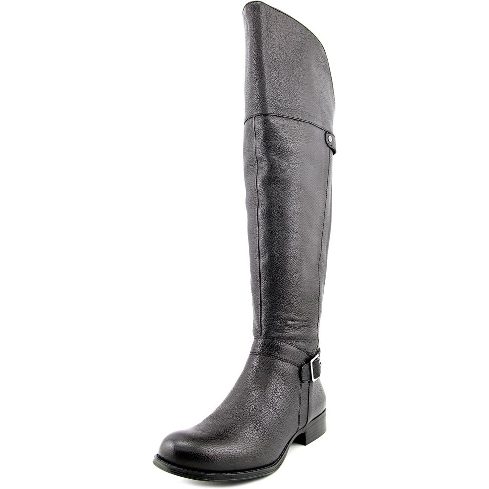 Naturalizer July Women Round Toe Leather Over the Knee Boot by Naturalizer