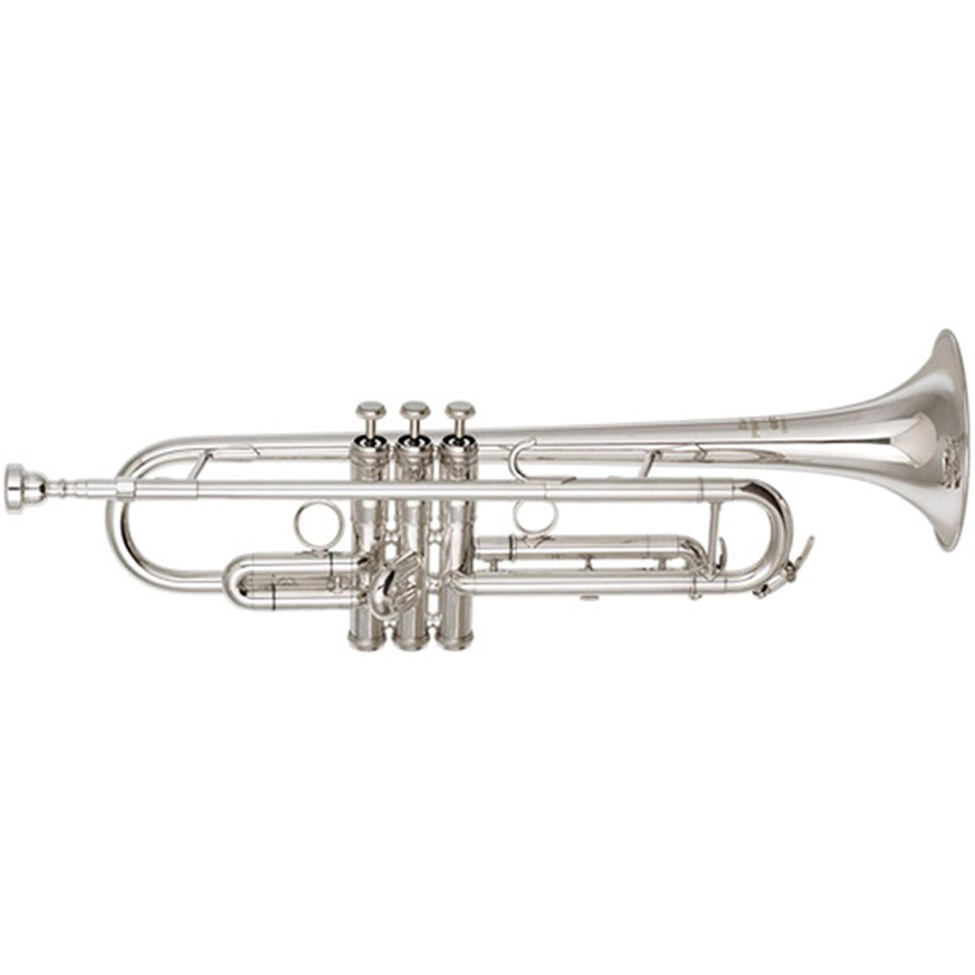 Getzen 907S Eterna Proteus Bb Trumpet, Silver by Getzen