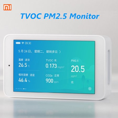 3.97 Inches Xiaomi Mijia Air Purifier Quality Tester Monitor TVOC PM2.5 Temperature Humidity for Android43