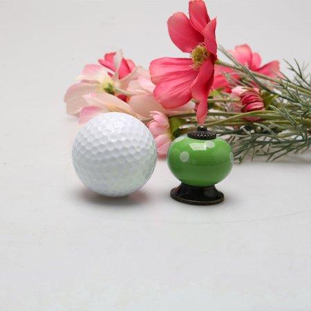 Ceramic Vintage Knob Pull Handle Dresser Cupboard Cabinet Accessories 6pcs Green - image 6 of 7