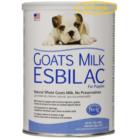 PetAg Goats Milk Esbilac Powder for Puppies 12 oz - Pack of 6