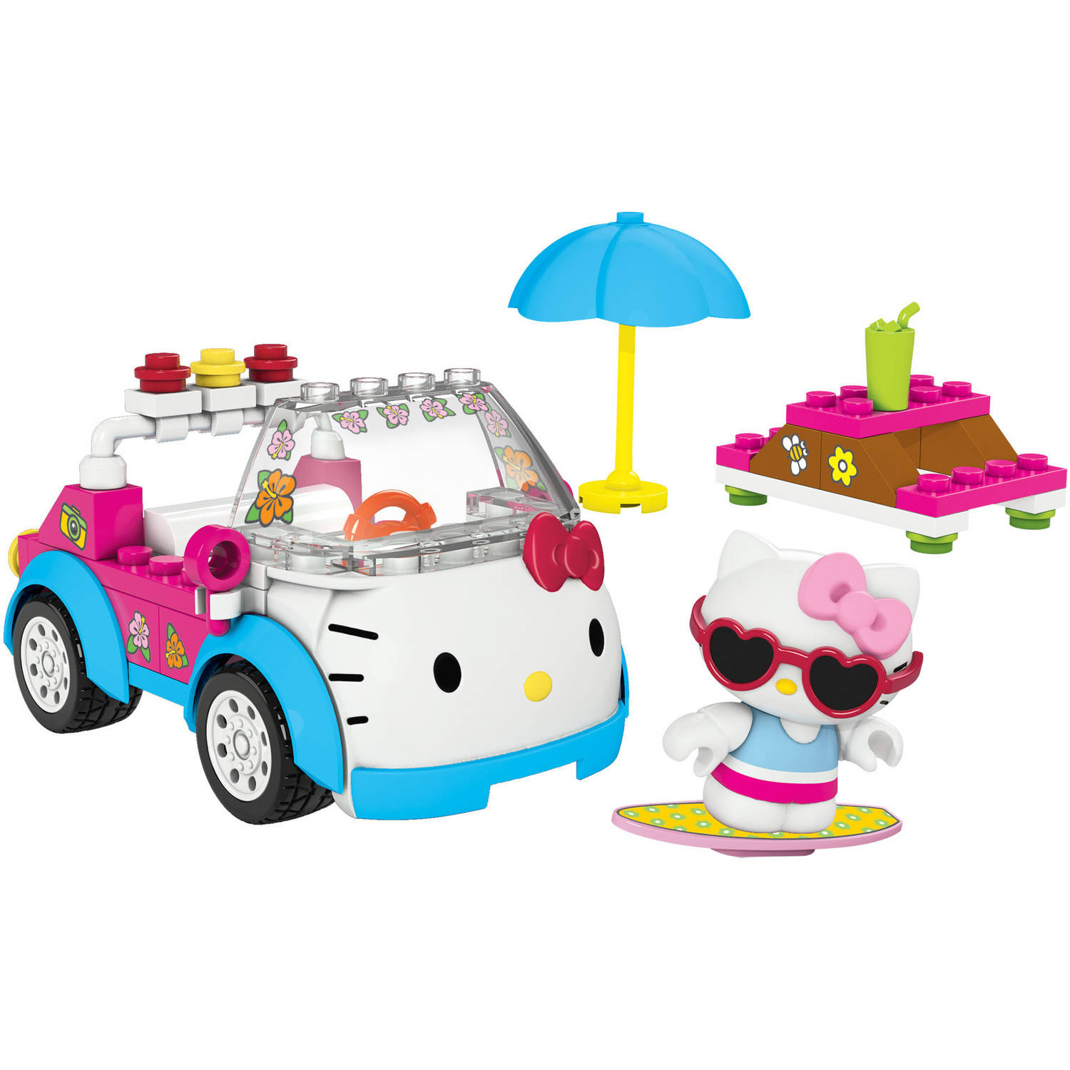 Mega Bloks Hello Kitty Summer Convertible