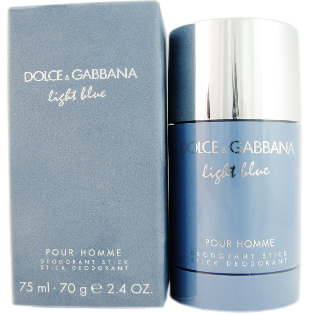 Dolce & Gabbana Light Blue for Men 2.4 oz Deodorant Stick