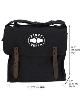 6f05d71c04 Product Image Fight to the Death Heavyweight Canvas Medic Messenger  Shoulder Bag. Army Force Gear