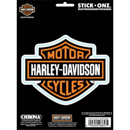 Chroma Graphics 8657 Decal Chroma (TM) Harley Davidson Logo