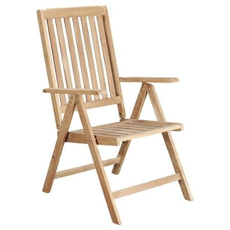 Arbora Teak Riviera Teak Reclining Patio Chair