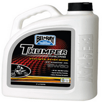 BEL-RAY THUMPER RACING SYN ESTER 4T ENGINE OIL 15W-50 (4L)