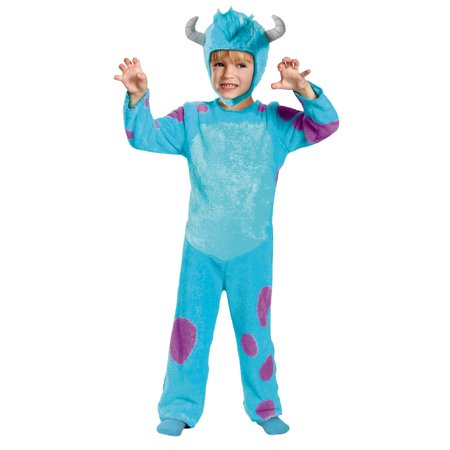 Sully Child Halloween Costume, S (4-6) - Sully Monsters Inc Adult Costume