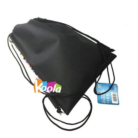 dc56714ef00 Disney coco - Disney Licensed COCO Sling Drawstring backpack Tote Bag w   Small Wallet (black2) - Walmart.com