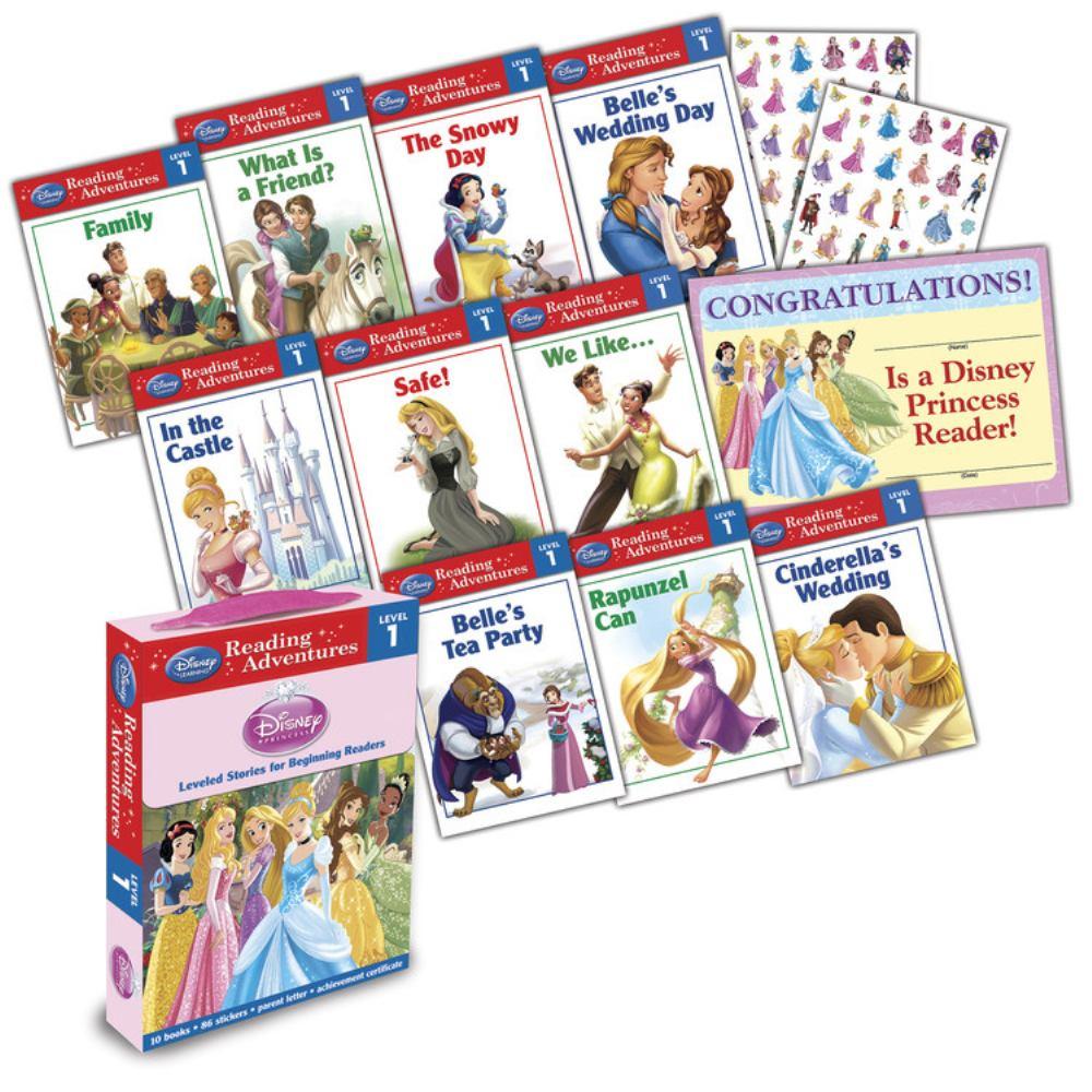 Disney Princess Reading Adventures Disney Princess Level 1 Boxed Set by Disney Pr