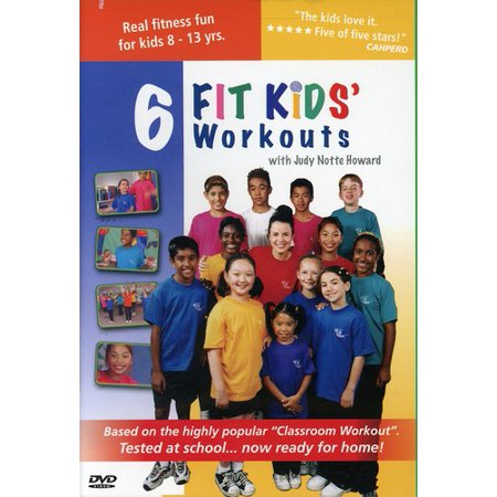 6 Kids Fitness Workouts: Fit Kids (DVD)