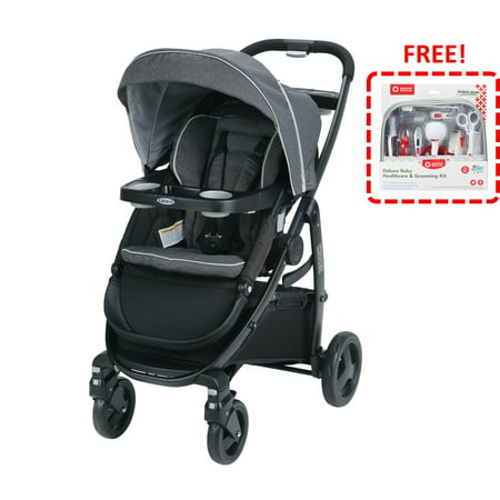 Graco Modes Click Connect Stroller, Grayson with FREE! American Red Cross Deluxe Baby Health and Grooming Kit