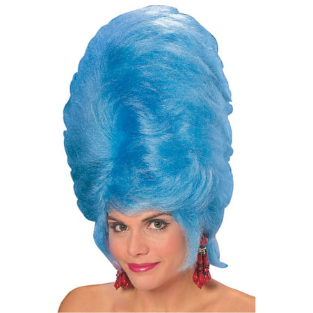 Party City Blue Wig (Blue Beehive Wig Adult Halloween)