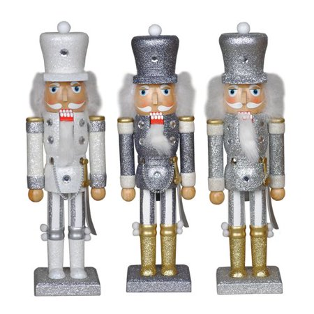 Santa's Workshop 14'' Glitter Guard Nutcracker (Set of - Guard Nutcracker