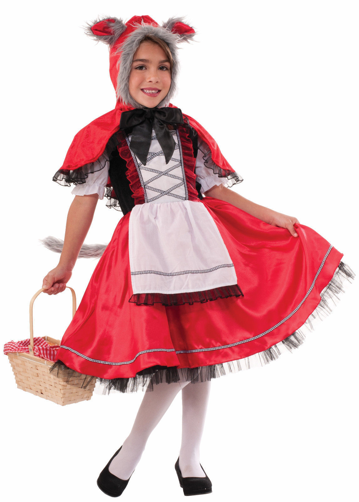 Small Pretty Little Red Riding Hood Deluxe Child Costume
